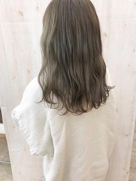 【Befine京都】ダブルカラーで、オリーブグレージュ★
