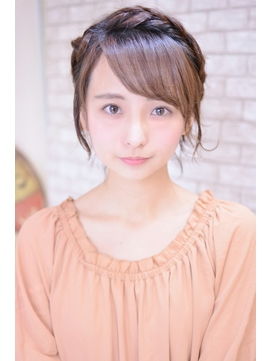 【メイズ東中野・鍛原志行】ショートの編み込みアレンジ