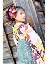 moku hair  卒業式スタイル.18