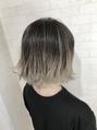 外ハネボブ☆グラデーション【Alma hair】デザインカラー