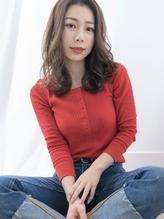 センターパート/ゆるふわパーマ【ACOT田中祐輔】.9