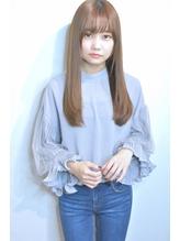 Saphir☆イルミナカラー、潤いストレート.9