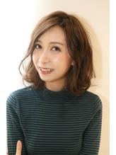 大人かわいい3Dカラー×ゆるふわモードミニマムボブ【恵比寿】.27