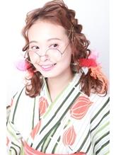 大正浪漫 OSAGE 浴衣ヘア STYLE おさげ.10