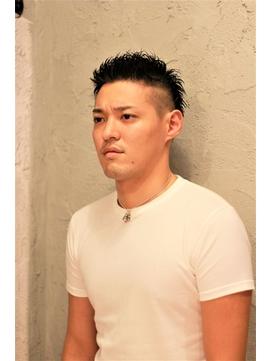★Ms hair★ツーブロック アップバング ジェットモヒカン