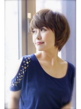【FORTE】横顔美人ショートヘア♪大人っぽいショート