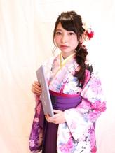 卒業式スタイル 袴&セットスタイル 【高田馬場 美容室】 .6