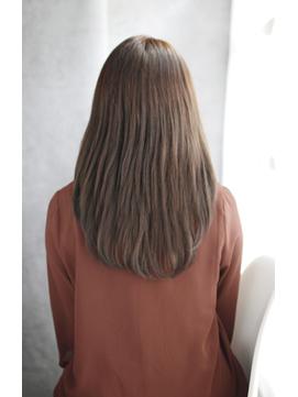 小顔セミウェットウェーブハイライトカラー美髪オリーブカラー56