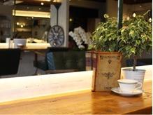 """カフェのようにホッと一息つける場所☆洗練された上質空間で""""ワンランク上の美しさ""""を提供します!"""