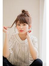 カジュアルお団子スタイル.57