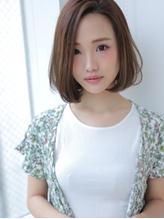 可愛い&キレイが叶う☆ワンレンボブ.0