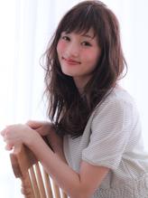 【Violet】アシンメトリーショート前髪×ナチュラルウェーブ 大人,フェミニン.55