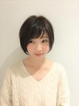 ☆透け感バング ショートボブ☆.39
