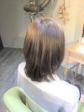 白髪染めでも明るく透明感☆ミセスのクリアアッシュレイヤー♪.15