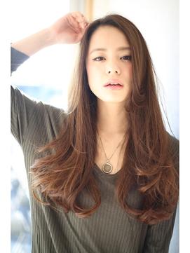 [OCEAN Hair&Life]大人の色香☆プラチナグレージュロング☆
