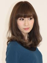 ゆるまきMIXカール ワイドバング×ルーズロング.18
