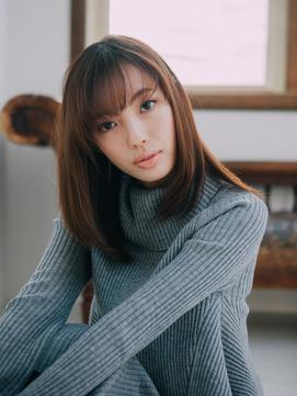 自然なストレート☆フリンジバング【行徳】