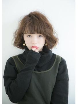 【lond avenir スタイリスト西田大樹】ふんわりパーマボブ
