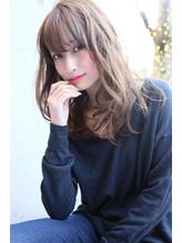 ROENA☆ゆるふわアッシュ☆くびれミディワイドバング OL.60