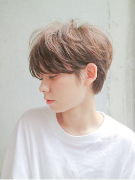 【DaVin中目黒】フレンチボブマニッシュショートネイビーカラー