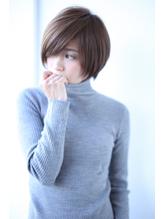 【FERIA】 誰でも似合うワイドバングショートボブ☆ ガーリー.12