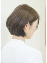 柔らかショートボブ 30代40代50代髪型.0