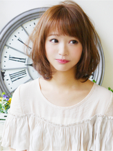 【ヘアジュレドゥ 花井】 愛されゆるボブクリアミディ☆ 編み込み.37