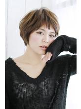 美髪デジタルパーマ/バレイヤージュノーブル/クラシカルロブ/945 シュシュ.38