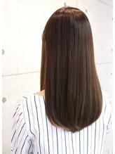 【ONE HAIR】明るめでもツヤツヤ☆秋ベージュ【美髪】.21