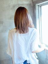 【EL hair salon】 (イルミナカラー)グレージュ×ボブレイヤ3 脱力系.34