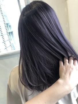 【mois】ラベンダーカラー(ブリーチ有) (仙台/青葉区)