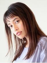 濡れ髪クールなワンレンスタイル.52