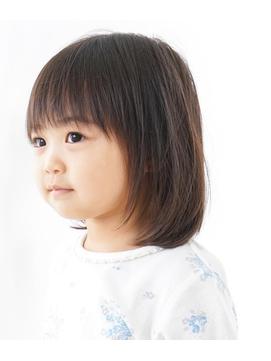 キッズカット/子供カット/ショートカット/女の子/前下がり
