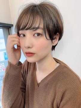 【畑中正敏】シースルーフェミニンショート