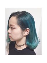 ハイトーンカラー×エメラルドブルーグリーン☆ .49