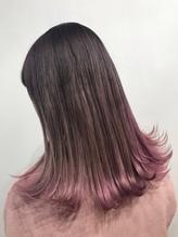ピンクパープルグラデーションカラー .1