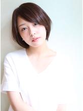 大人かわいいナチュラル小顔ショートボブ [Green label 川崎].48