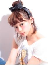 《Agu hair》リボンアップアレンジへア.33