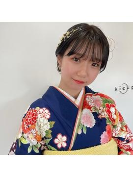 【kicca】ショート☆成人式ヘア