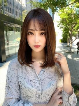 【Lond Alexia】小栗一紘 ナチュラル/ストレート/前髪カット G