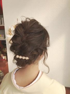 Zip Hair ★入学式のヘアセット★