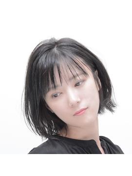 【Dulce】ナチュラルワンレングス×黒髪