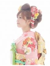 【引き振袖・花嫁へア】あんみつ姫風日本髪♪¥5400 かんざし.16