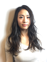 髪質改善トリートメント 透け感ゆるふわロング.19
