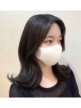韓国くびれヘア