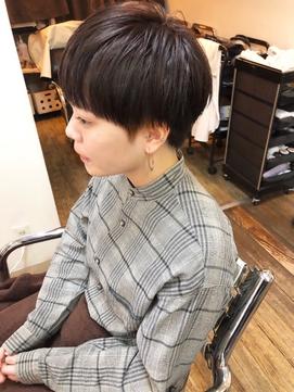【micca下北沢】☆暗髪×ウェットマッシュベリーショート☆