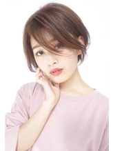 透け前髪で肌見せセクシーショート ボディパーマ.24