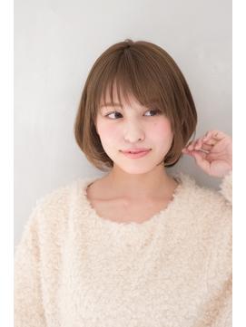 【東 純平】大人かわいい 小顔 ひし形ボブ