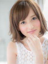 【studio Teo】 フェミニン&小顔ゆるパーマボブ フェミニン.23