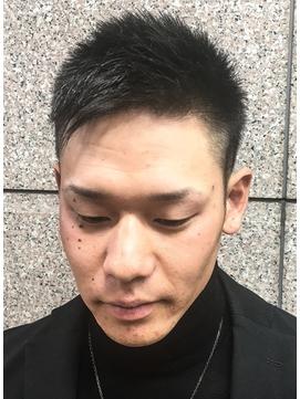 ビジカジ ツーブロック 短髪 モテ髪